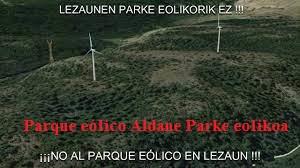 PARQUE EÓLICO ALDANE